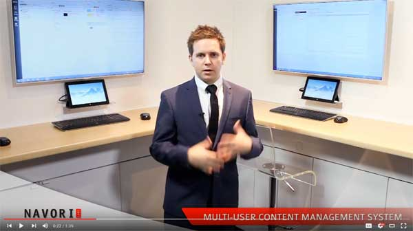 Multi User multi tenant Content Management System