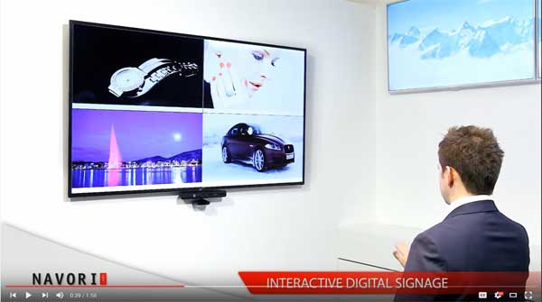 Interactive Digital Signage Show Case