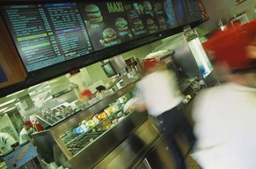 Electronic Menu Board Displays