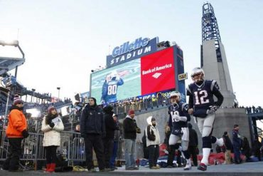Gillette Stadium Usa LED display