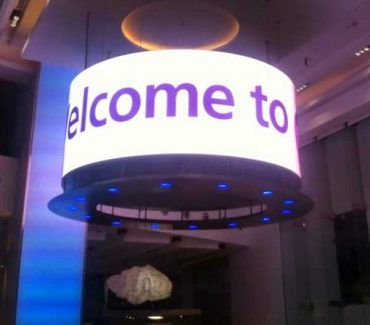 Indoor Instore LED Circle