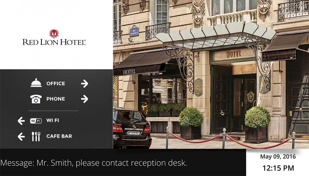Hotel Foyer Display : Android windows digital signage player navori ql software